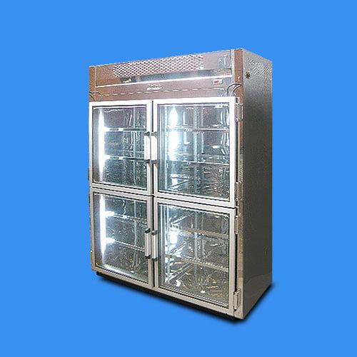 Refrigerador-vertical-4-puertas-en-vidrio-exhibicion