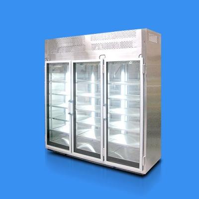 Refrigerador-vertical-3-puertas-en-vidrio-exhibicion