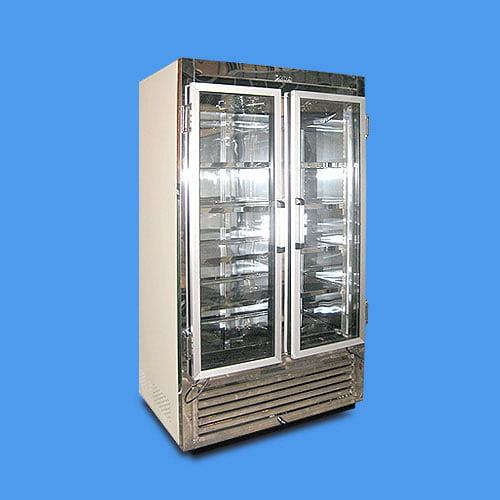 Refrigerador vertical para exhibici n dos puertas polo norte - Neveras doble puerta ...